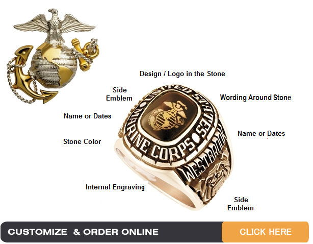 marine corps jewelry