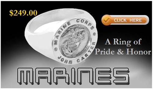 marine corps signet ring