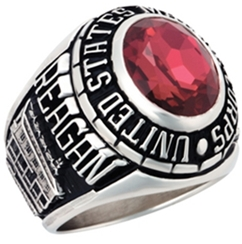 silver marine corps rings
